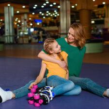 roller skating rink, iStock