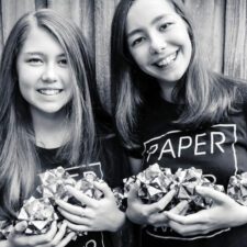 Paper For Water, sisters Katherine and Isabelle Adams, Photography courtesy of Sarah Anna Hansen