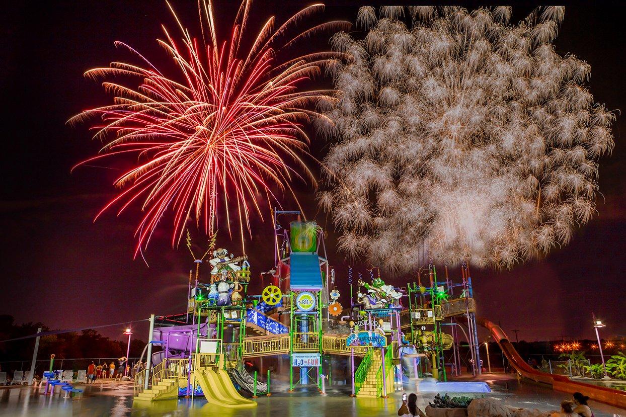 Summer Fireworks at NRH2O