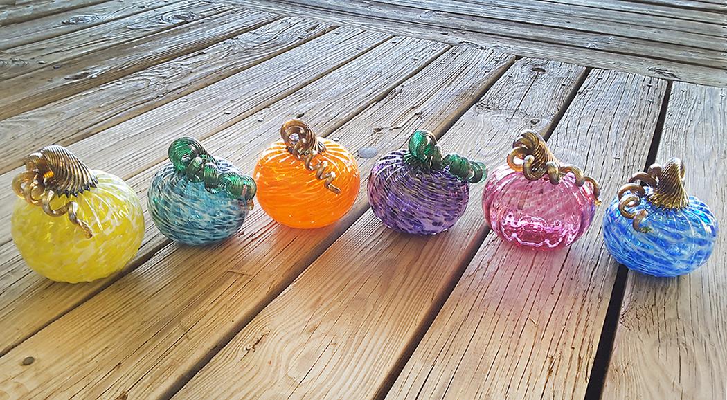 glass pumpkin help-create workshop