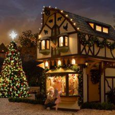 Dallas Arboretum, Holiday at the Arboretum, Christmas Village