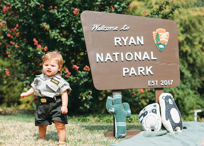 National Parks themed birthday party, Photo by Kelly Christine Sutton