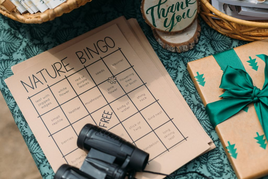 bingo, National Parks birthday party, photo by Kelly Christine Sutton