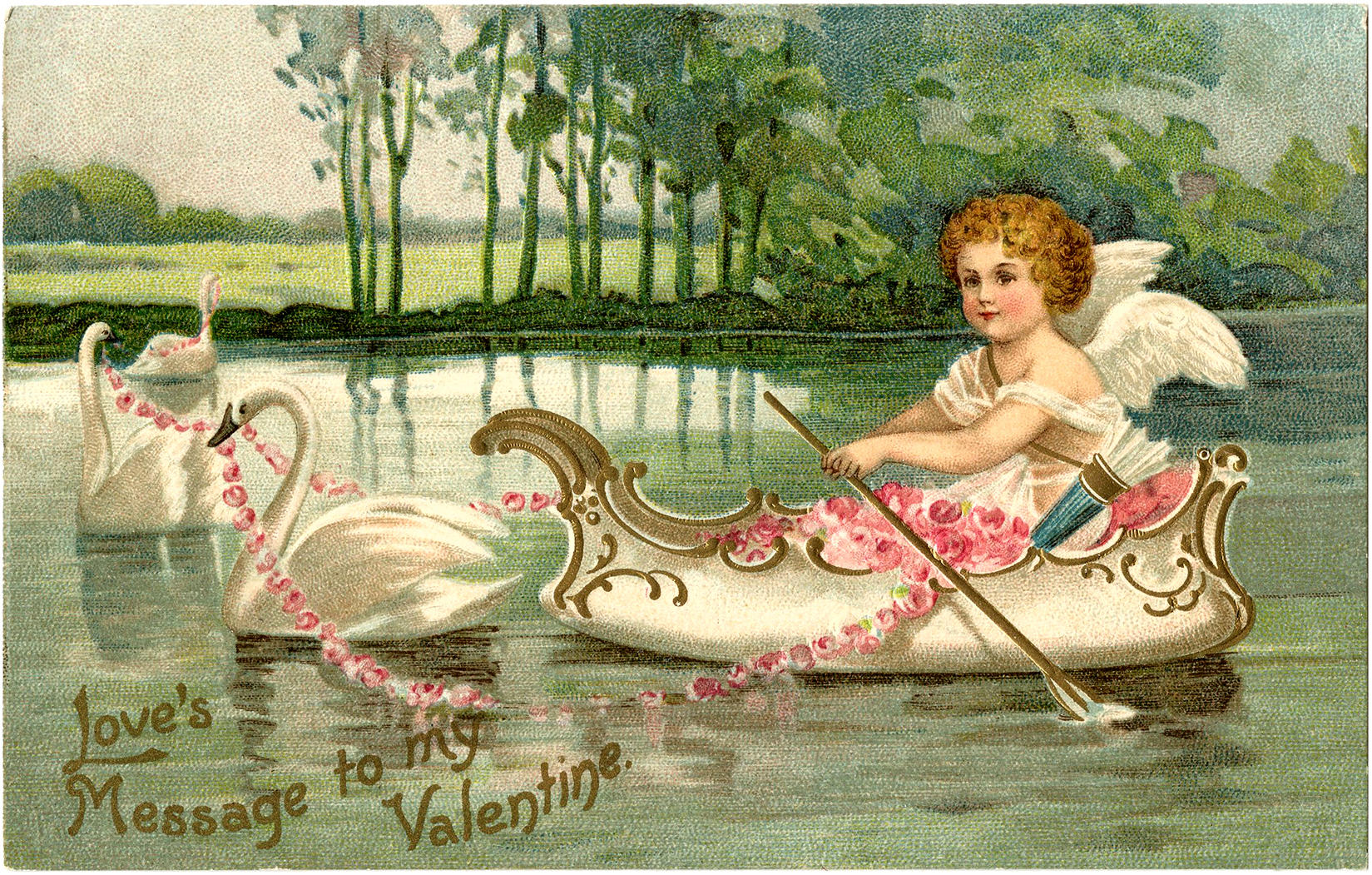 Victorian Valentine Cards c Grapevine Convention and Visitors Bureau