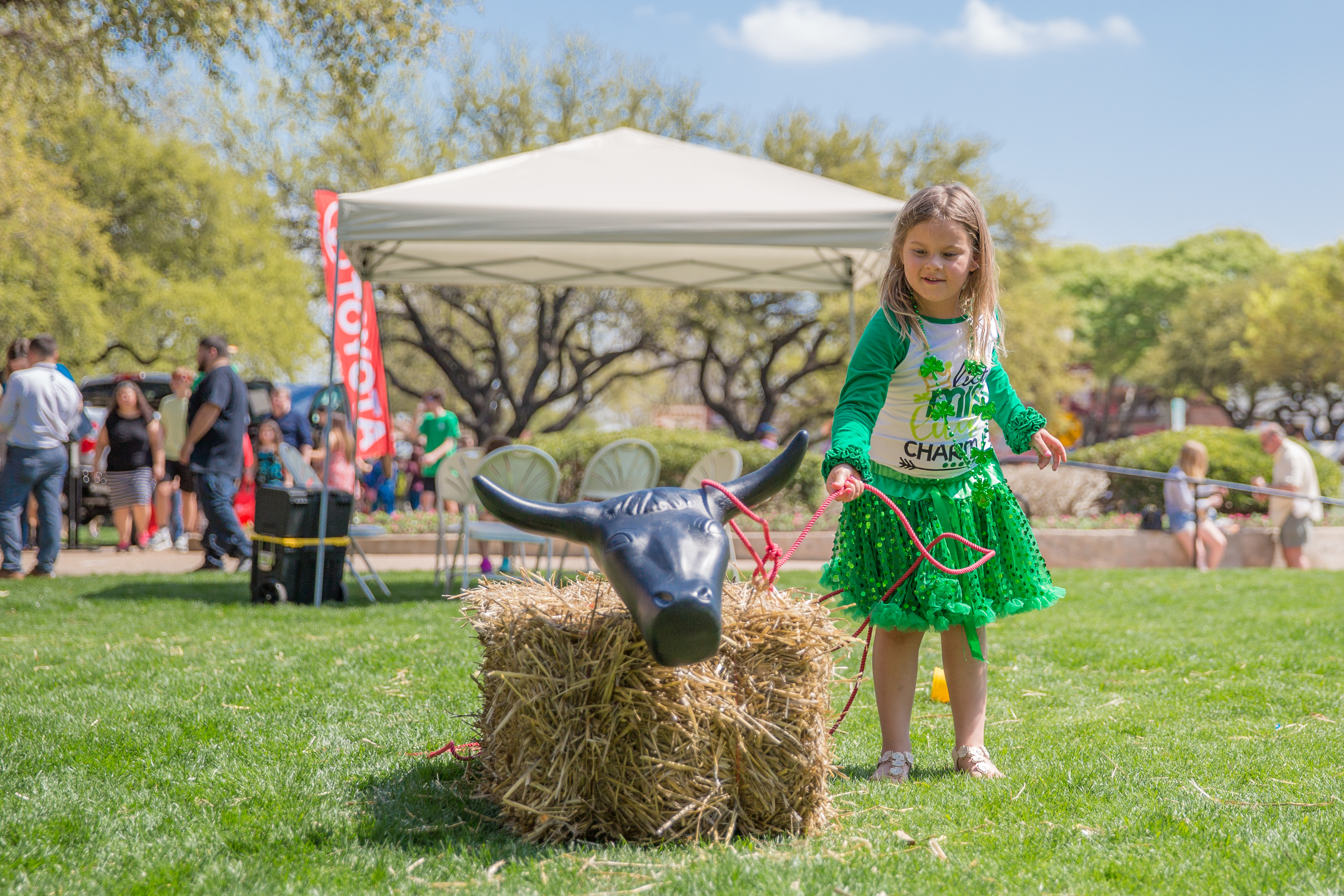 Cowtown Goes Green, Fort Worth Stockyards