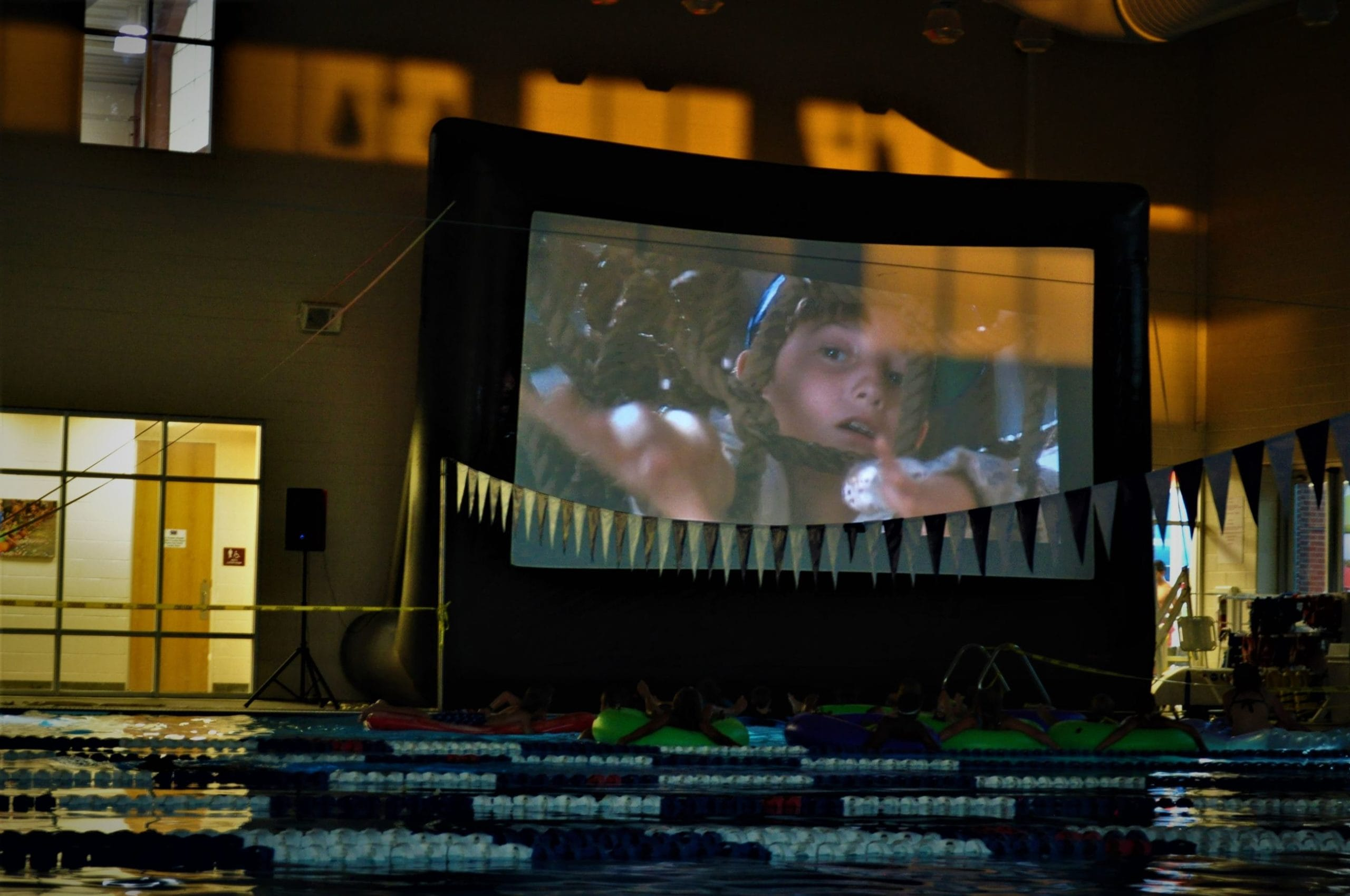 Dive-In Movie at Flower Mound CAC