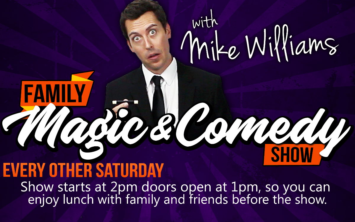 Family Magic & Comedy with Mike Williams, Improv Addison