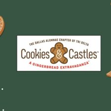 Cookies & Castle, Tri Delta Christmas fundraiser for Scottish Rite