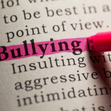 highlighting bullying for national bullying prevention month