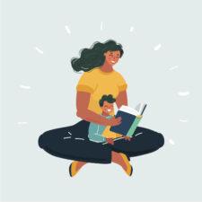 babysitter illustration, iStock