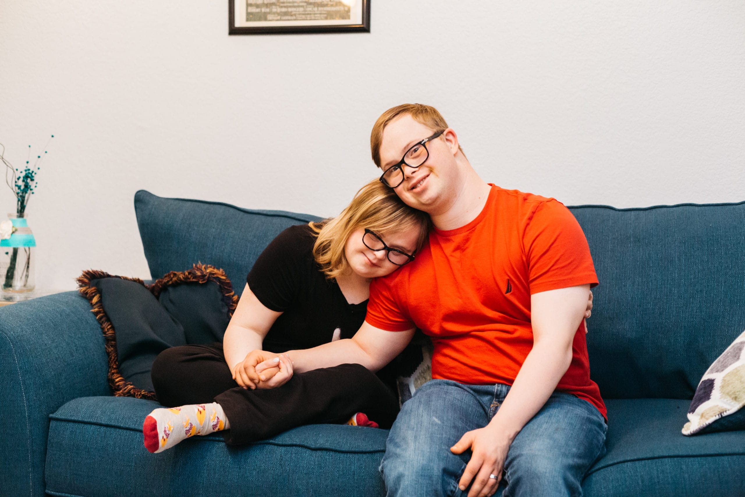 Love and special needs Carter and Elise couple