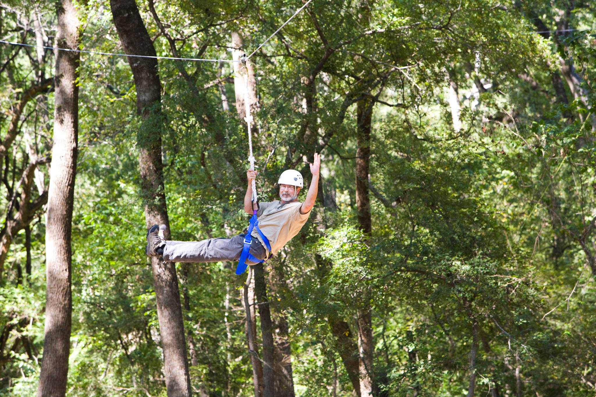 Zip Line Day, Heard Natural Science Museum and Wildlife Sanctuary