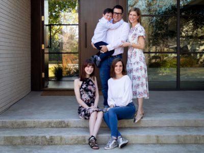 Shelly Rosenberg and family