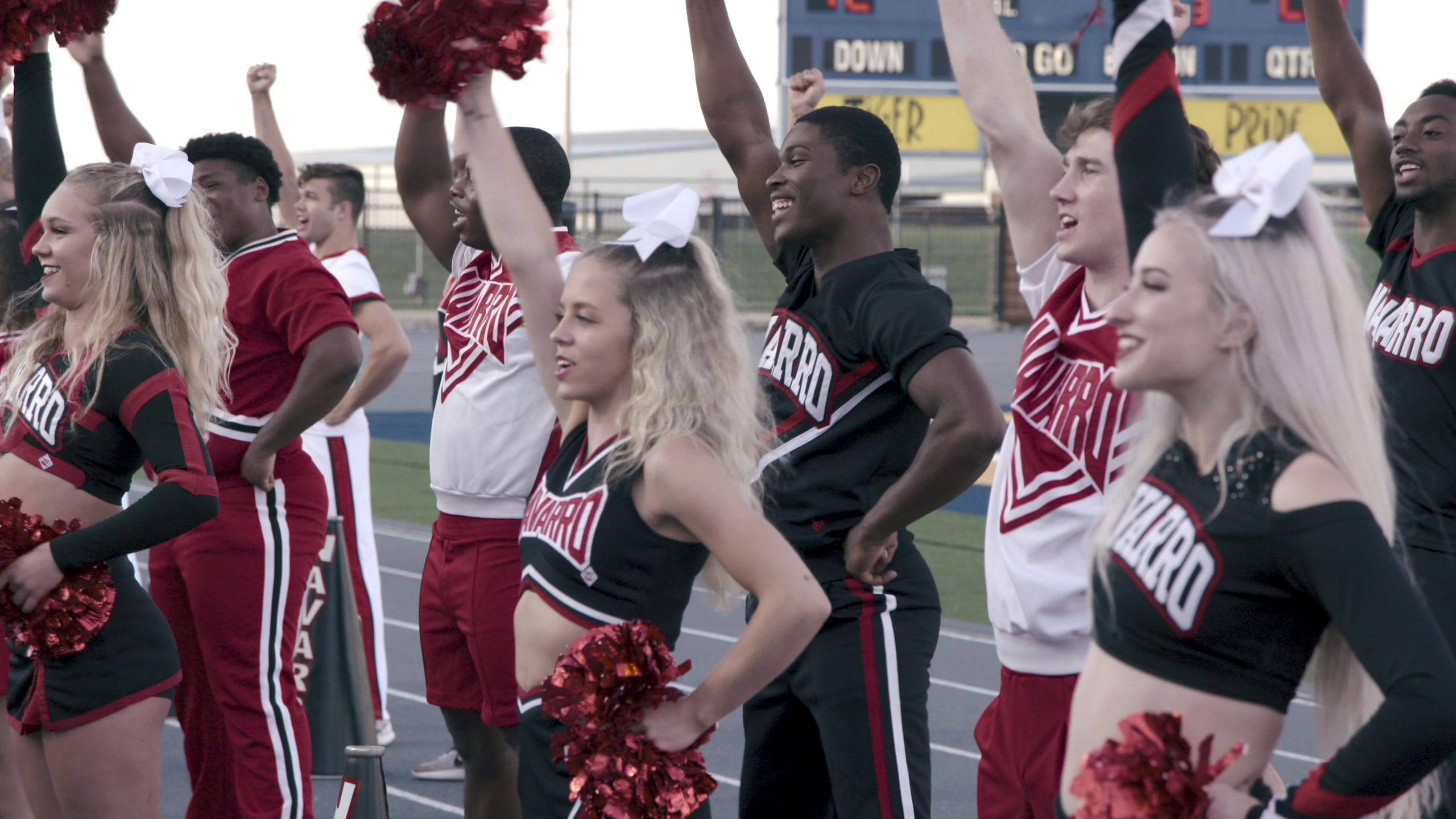 Netflix Cheer show; competitive cheer
