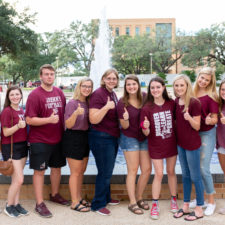 Aggie Achieve students at Texas A&M