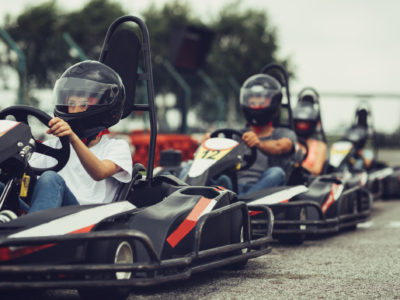 Where to let out your inner child; go carts adults
