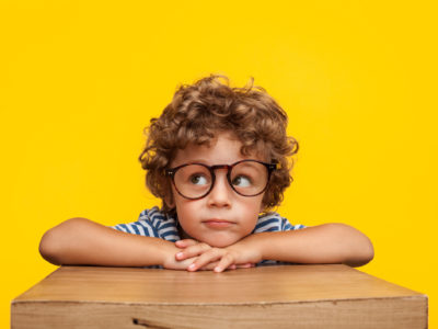 Little boy looking around; things to do with your son in dfw