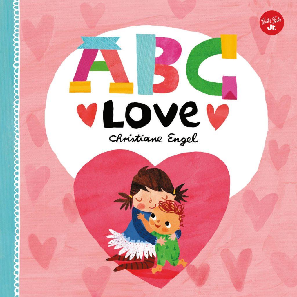 Kids valentine's day gift ABC love book