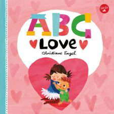 Kids valentine's day gift ABC love book