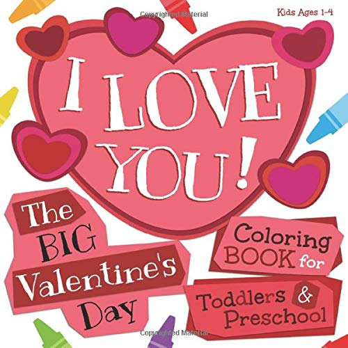 Kids valentine's day gifts coloring book