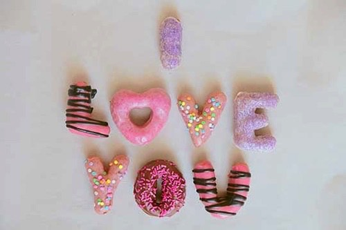 Kids valentine's day gifts personalized donuts