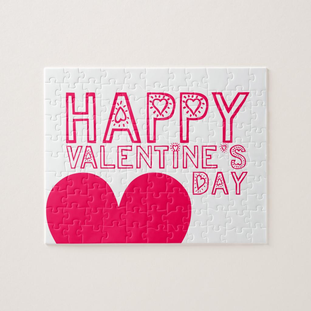 Kids valentine's day gift valentine's puzzle