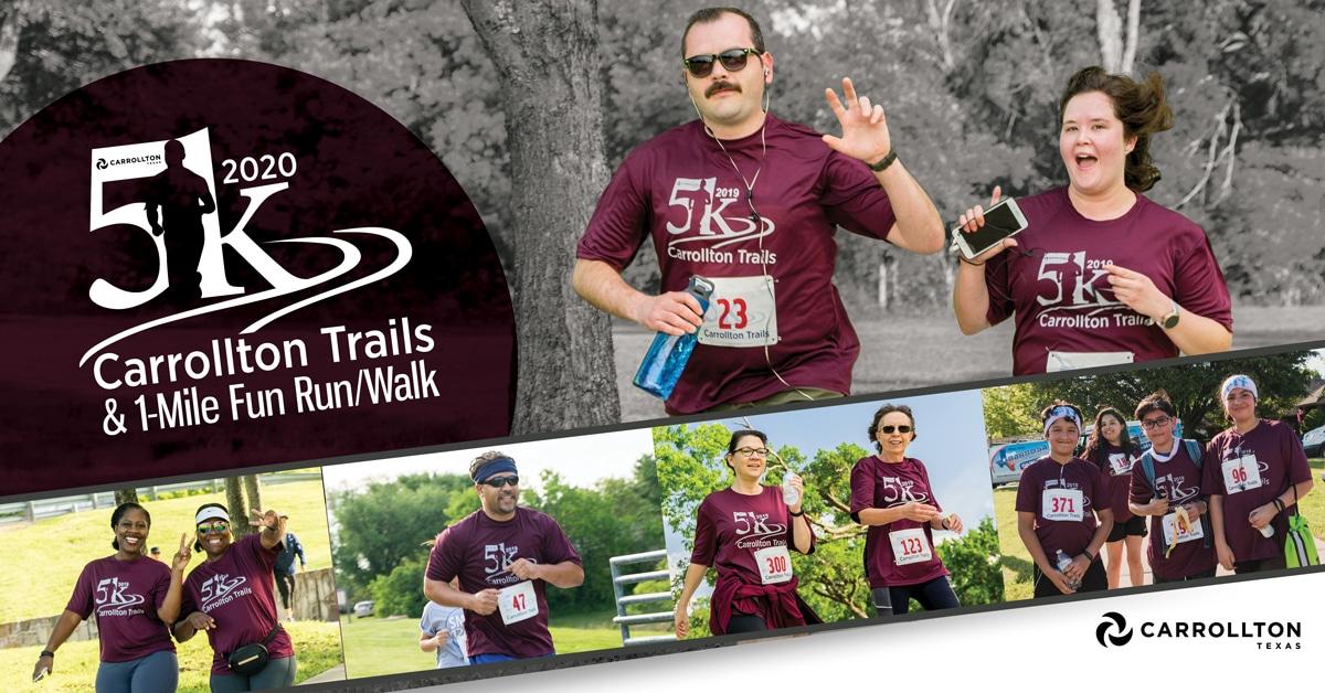 Carrollton Trails 5K & 1-Mile Fun Run/Walk