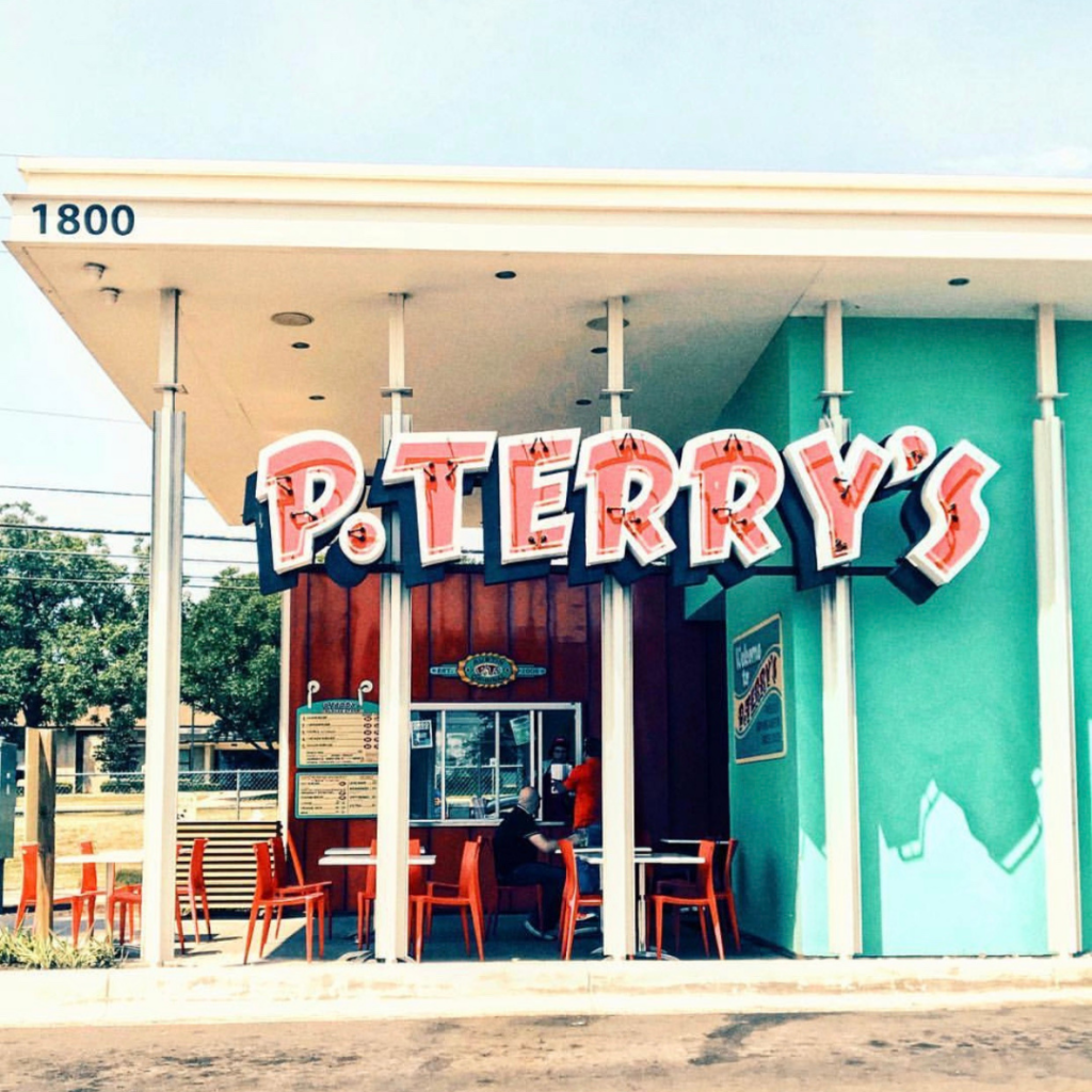 P. Terry's burgers in Austin