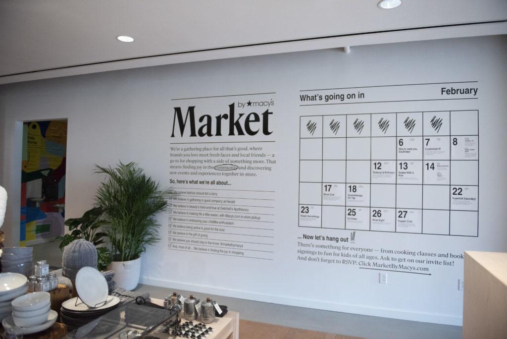 Market by Macys calendar