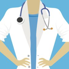 Doctor talking about coronavirus