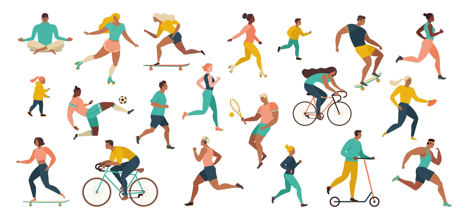 Getting and staying active while gyms are closed; workouts, exercise