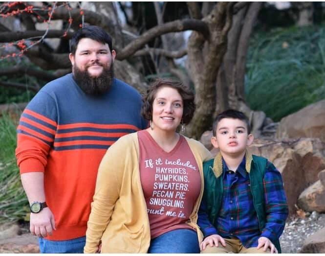 Francheska Medina and family