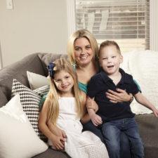 Shelenna Doney and kids
