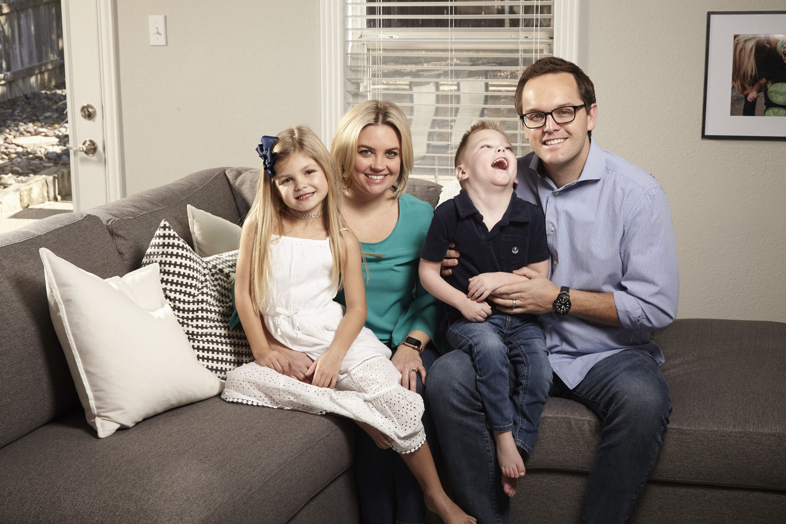 Sheleena Doney and family