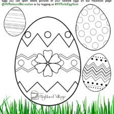 Highland Village Virtual Egg Hunt