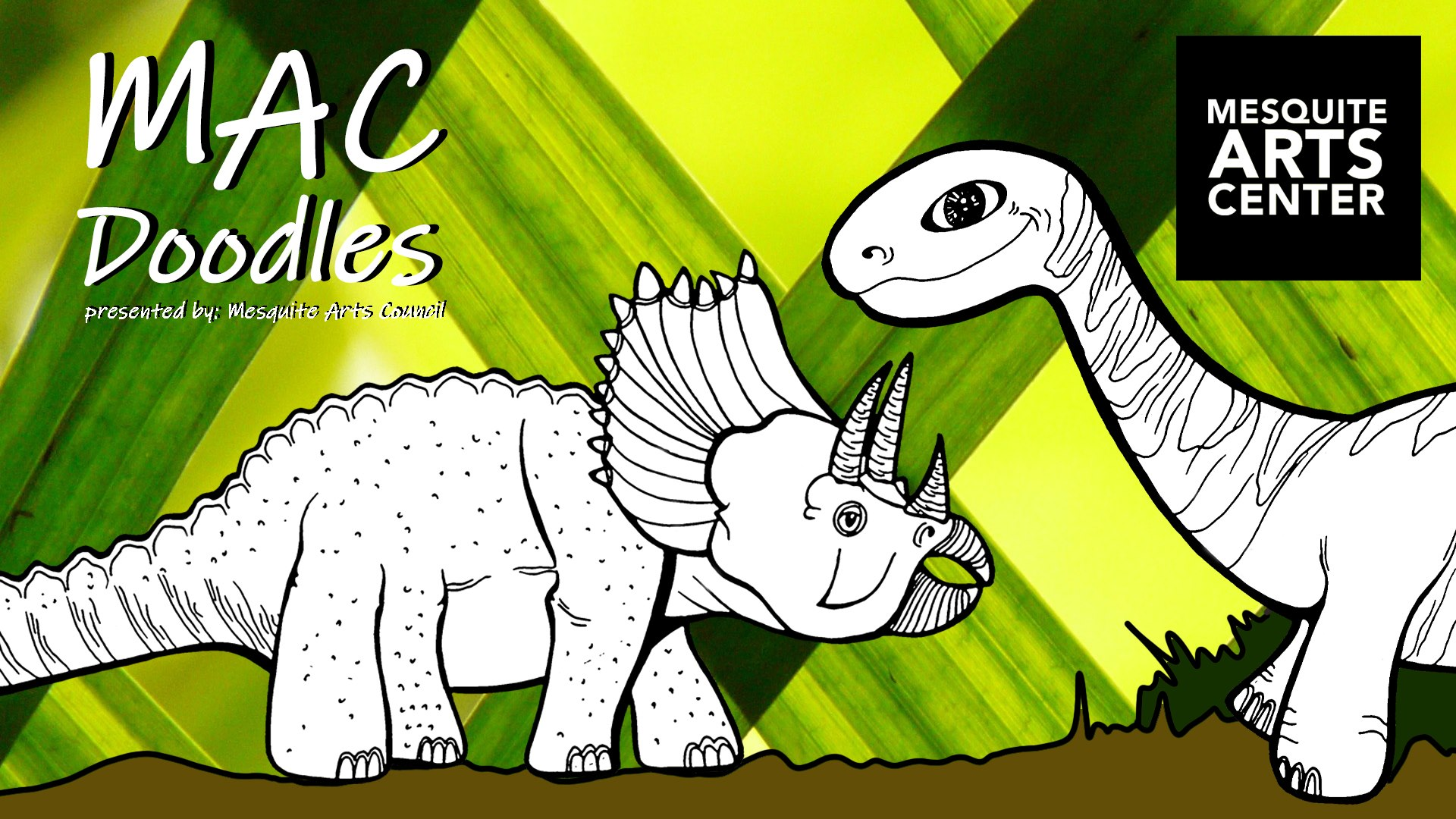 MAC Doodles Virtual Workshop: Dinosaurs