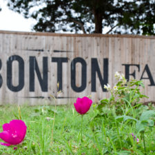 Bonton Farms sign in south Dallas