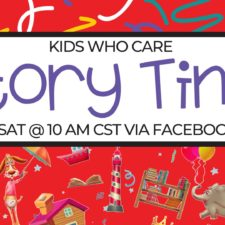 Kids Who Care Virtual Story Times