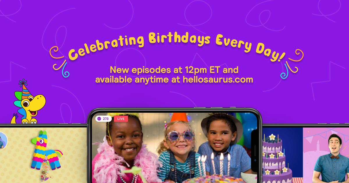 The Birthday Show by Hellosaurus