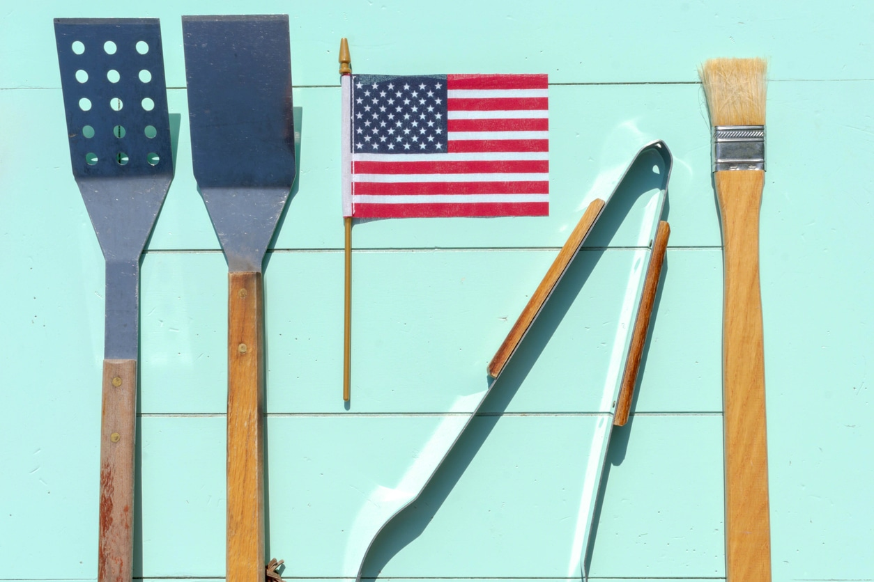 Grill tools for Memorial Day dishes and recipes