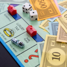 Monopoly board game for families