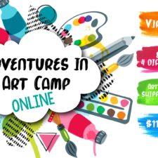 Bedford Virtual Adventures in Art Camp