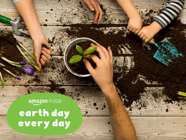 Earth Day Every Day Event, amazon 4-star store