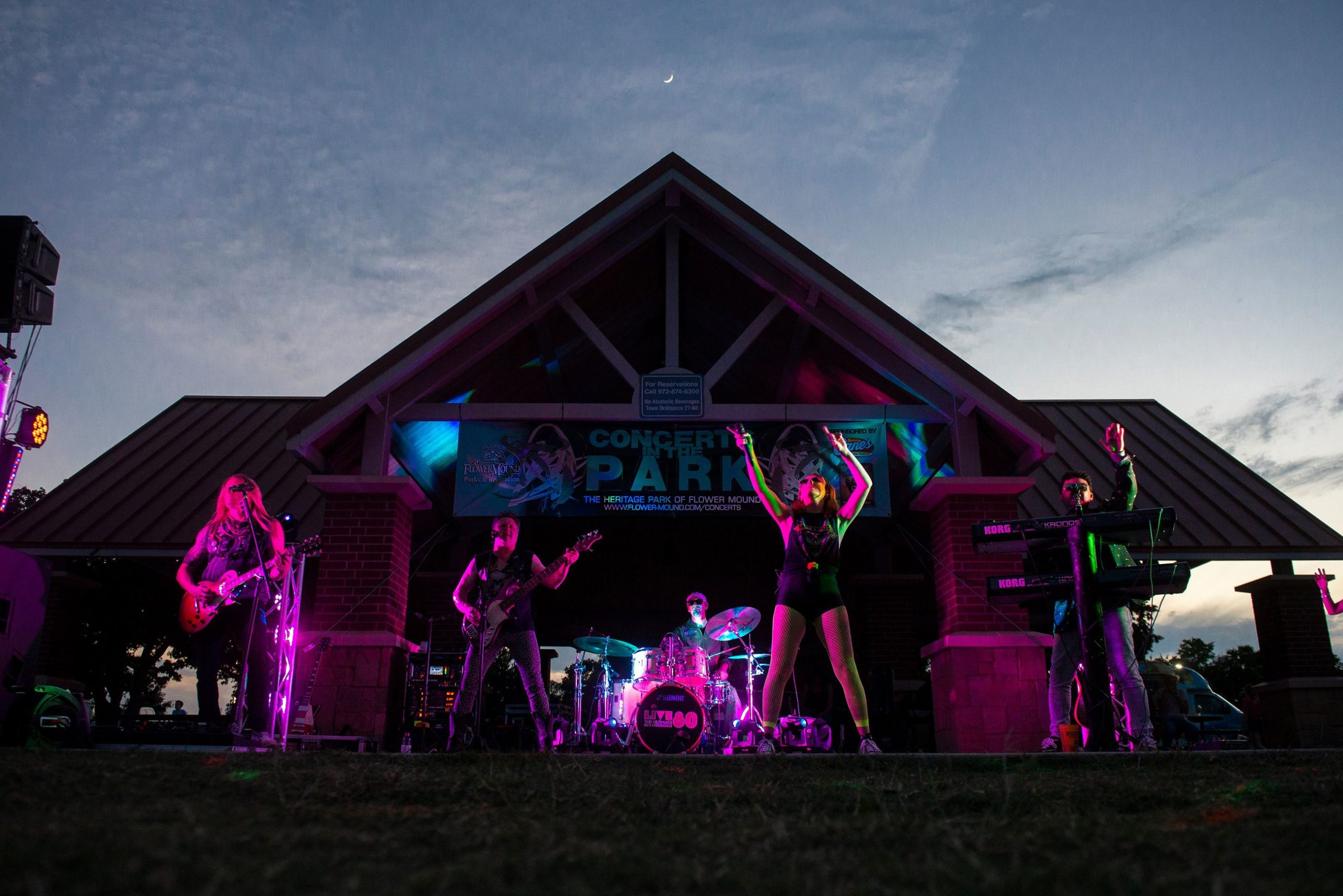 Concerts in the Park, Flower Mound