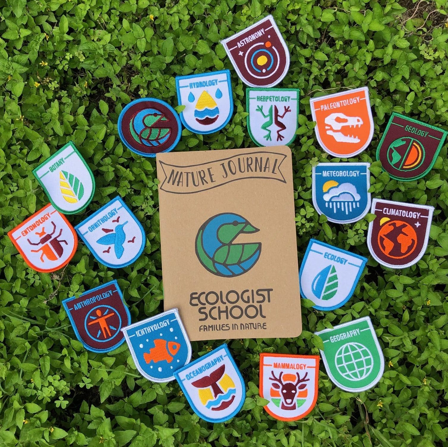 Families in Nature badges