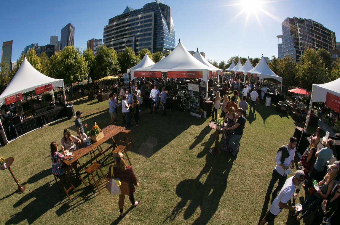 Klyde Warren Park Food & Wine Festival