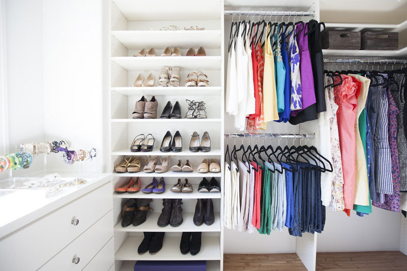 Clean closet with Neat Method