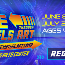 Time Travels Through Art: Irving Arts Center's Virtual Summer Camps