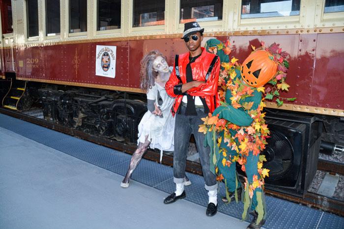 Witches Brew Train, Grapevine Vintage Railroad