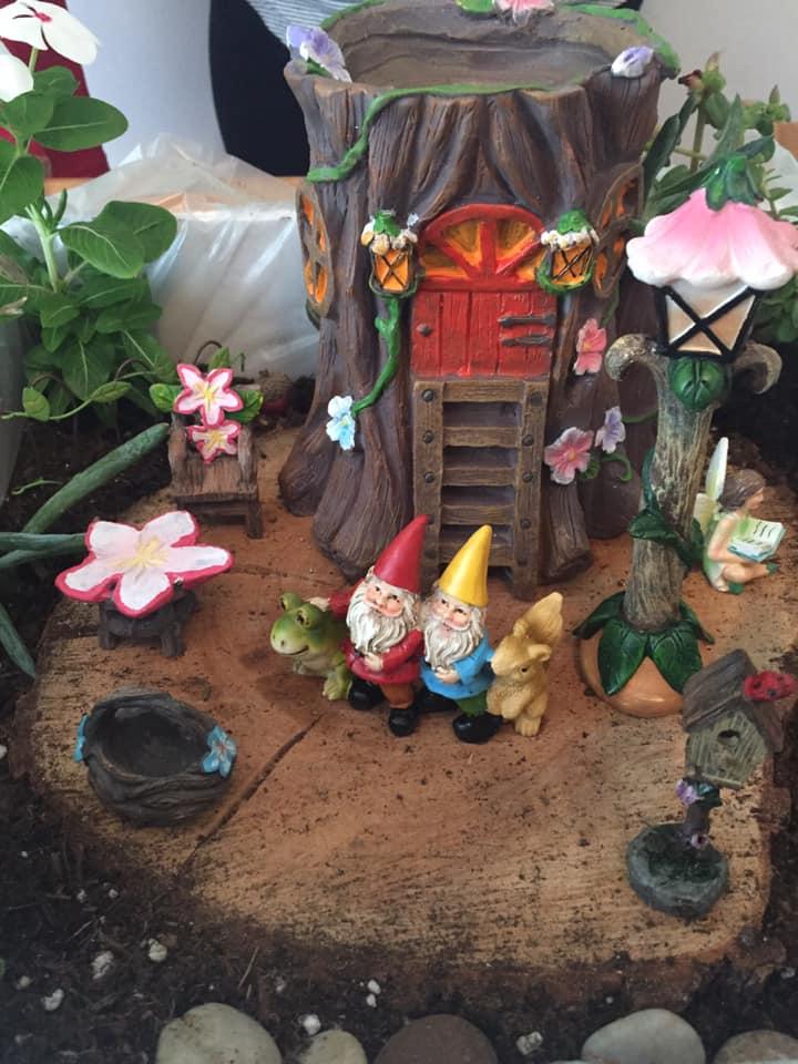 Farmers Branch Historical Park, Fairy Garden Workshop